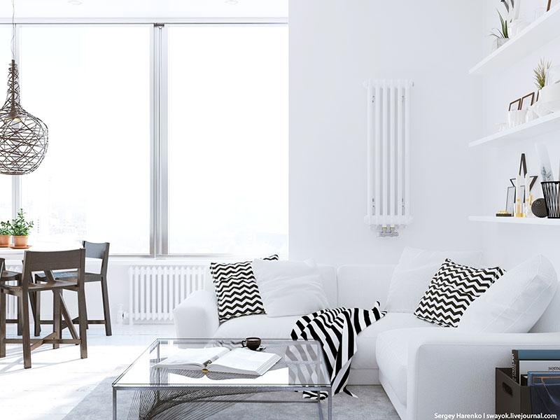 白色装修风格客厅设计