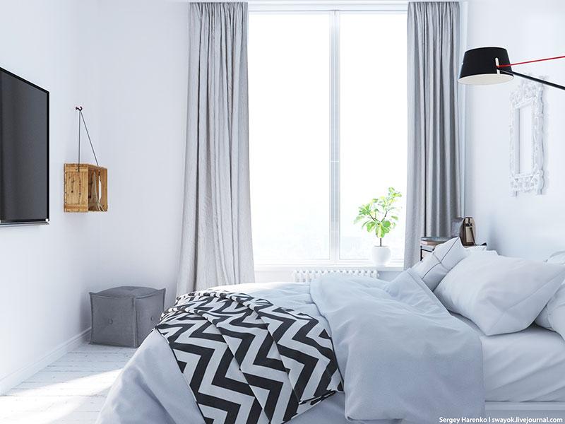 白色装修风格卧室设计