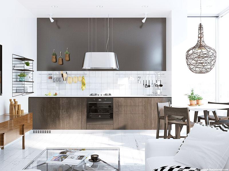白色装修风格厨房设计