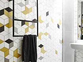 13个卫浴间墙砖效果图 时尚无限可能