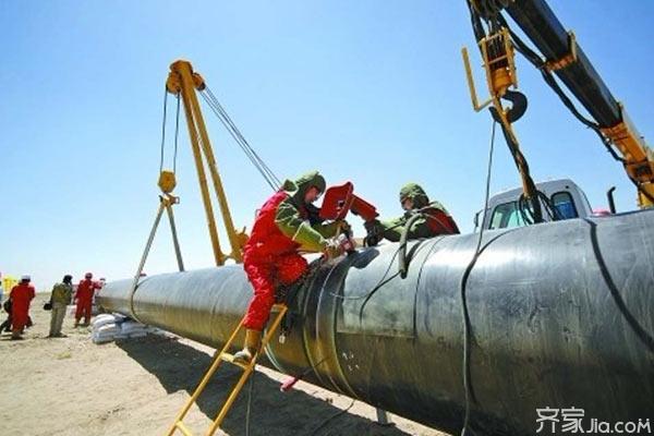 天然气管道安装 复杂事情简单化图片
