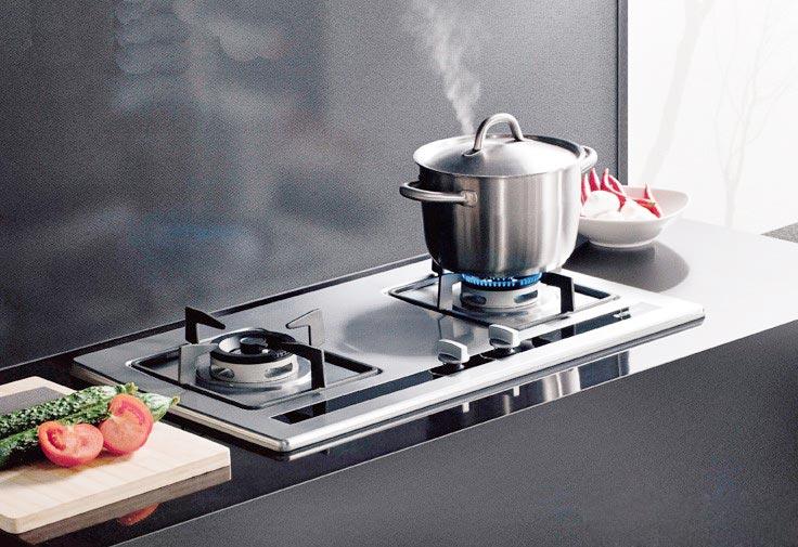 火力强劲的厨房灶具设计