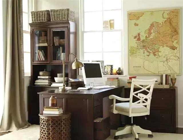 大气实用美式书房家具