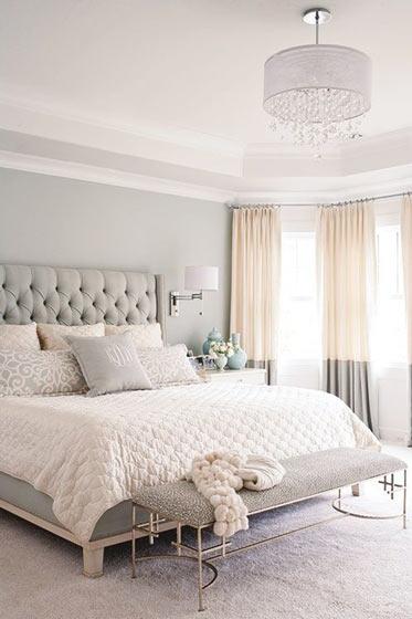 卧室床尾凳设计效果图