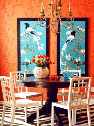 中式复古壁纸装修设计