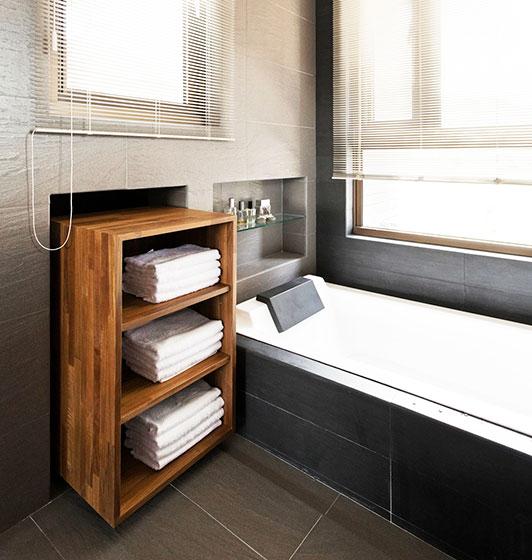 78平米简约设计效果图浴缸设计