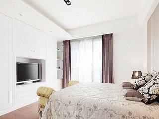 180平米大户型空间卧室电视背景墙设计