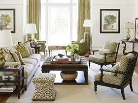 优雅慢生活 10个轻美式风格客厅设计