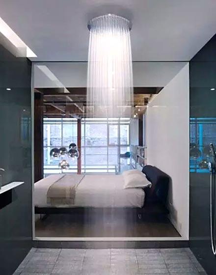 创意主卧卫浴间设计