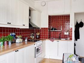 厨房也好色 14款厨房彩色瓷砖
