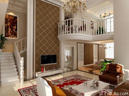 小户型的复式楼装修,也就是将普通住宅分为上楼与下楼两层来使用.图片