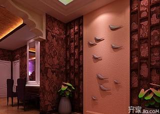 美容背景墙装修效果图