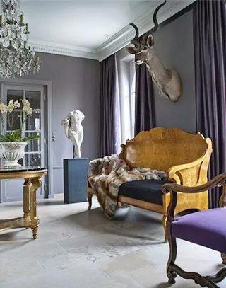 复古欧式风格客厅设计
