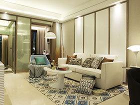 现代简约装修效果图 舒适空间设计典范