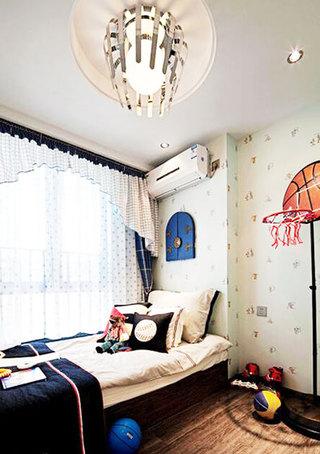 90平米现代简约装修儿童房设计
