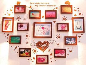 满满的都是爱 13款充满爱意的照片墙
