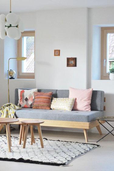 简约双人沙发设计效果图