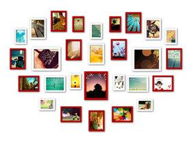 把爱留住 14款甜蜜照片墙设计