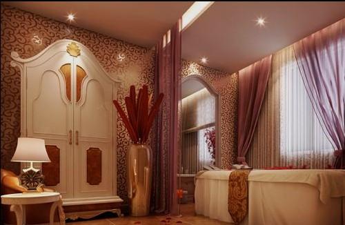 美容院房间布置装修效果图