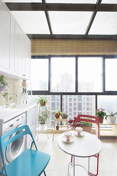 89平米美式装修风格阳台设计