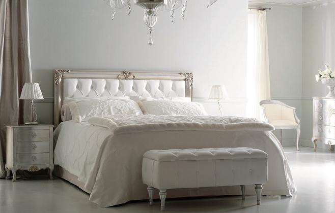 白色雅致卧室效果图