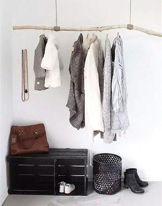 创意悬挂式简易衣架