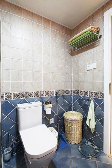 60平米美式装修风格卫生间设计