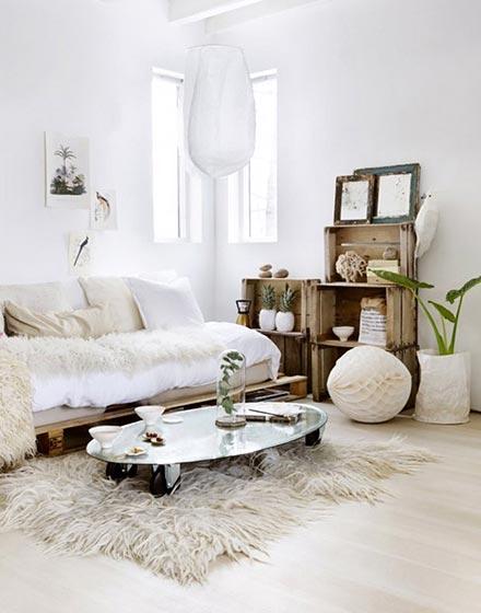 客厅温暖舒适地毯