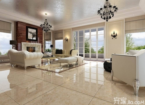 小户型客厅用什么瓷砖比较好 客厅瓷砖的规格有哪些