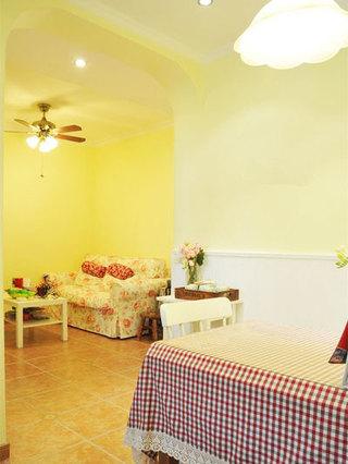温馨田园风格温馨客厅设计