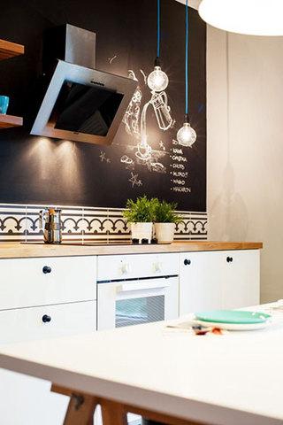 典雅简欧风格设计厨房