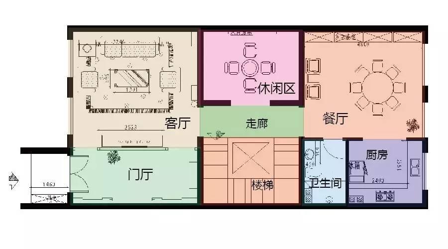 (一层平面布置图)