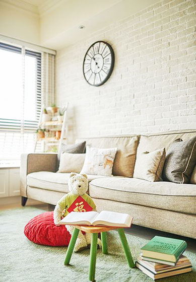 日式风格两室一厅110平米装修效果图