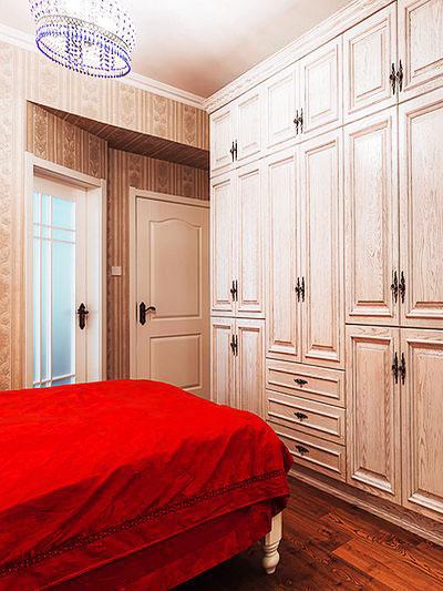 地中海式装修风格卧室衣柜设计