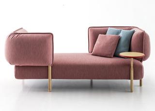 驼粉色懒人沙发