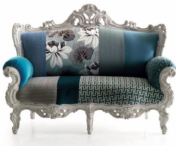 布艺新古典沙发
