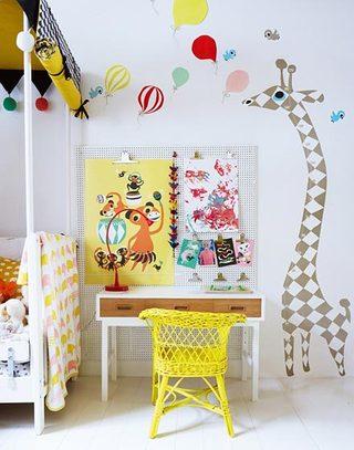超萌儿童小书房设计