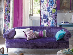 梦幻紫色家居 12图给你魅惑体验