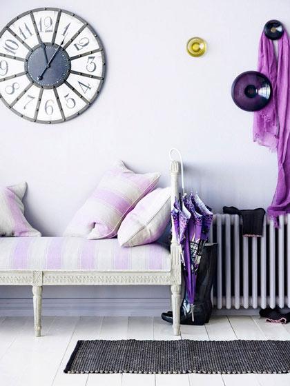 梦幻紫色沙发效果图