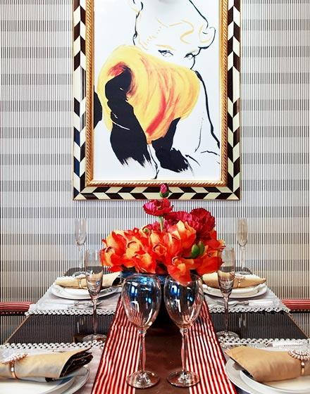 精致装饰画提升餐厅颜值