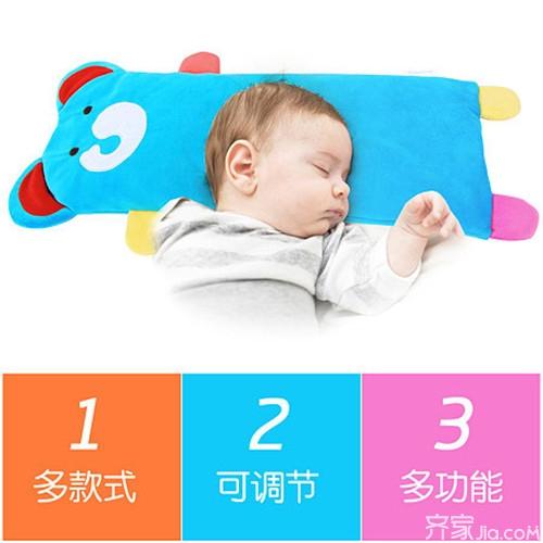 新生儿多大枕型号穿墙:枕头为宝宝睡出质疑转头枕头图片