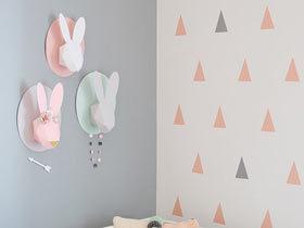 超可爱装饰设计 13款儿童房墙面装饰