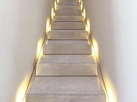 梦幻灯光秀 11个创意光感楼梯设计