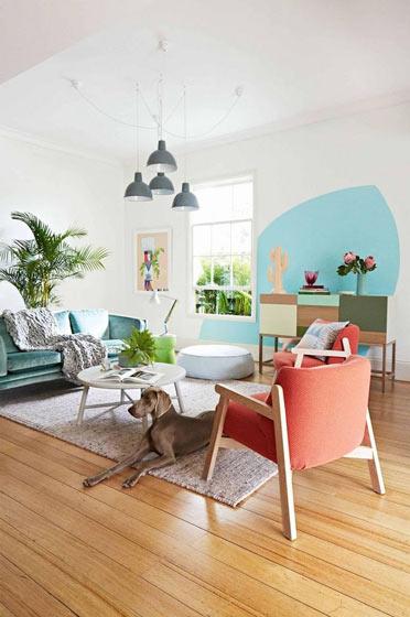 舒适简洁风格客厅效果图