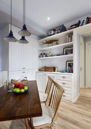 美式风格两室一厅温馨90平米效果图
