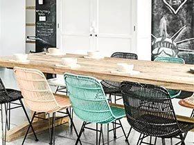 空间有氧 12个家庭餐厅木质餐桌设计