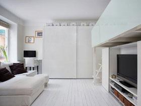 將收納做到極致 29平米單身公寓裝修