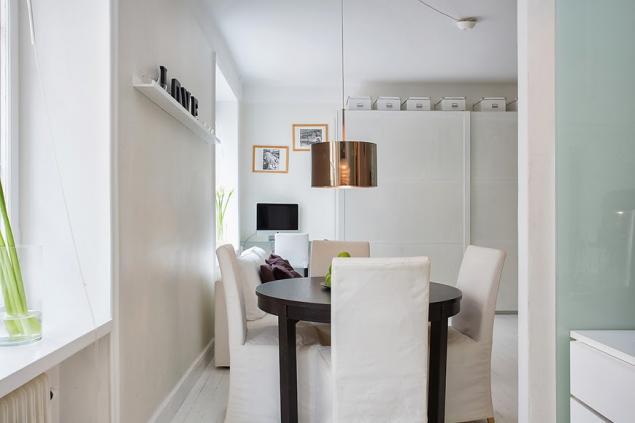 29平米单身公寓装修餐厅设计