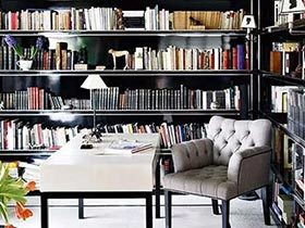 畅游书的海洋 11个家庭书房设计