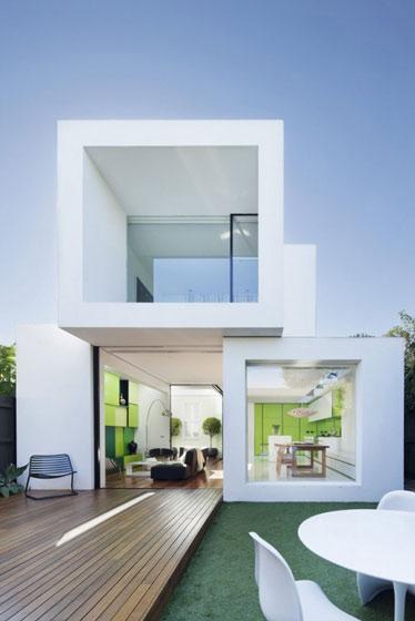 清新自然简约风格装修庭院设计